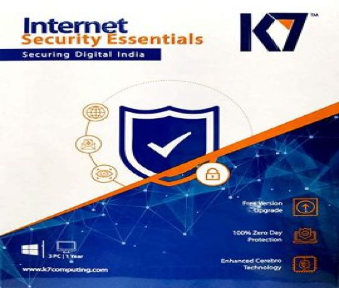 Buy K7 Internet Security online at reasonable price Instant Delivery on e-mail