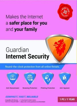 Guardian Internet Security 1PC 1Year